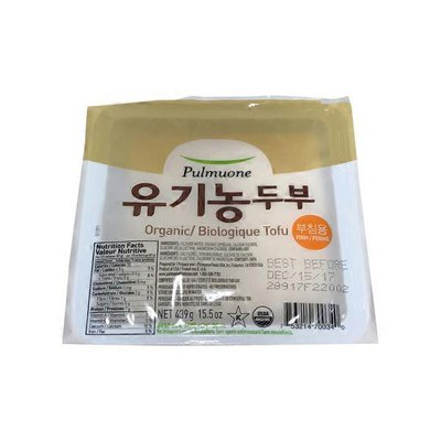 Pulmuone Organic Firm Tofu
