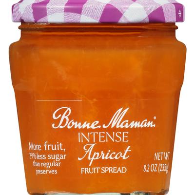 Bonne Maman Fruit Spread, Apricot, Intense