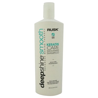 Rusk Deep Shine Smooth Keratin Care Smoothing Shampoo