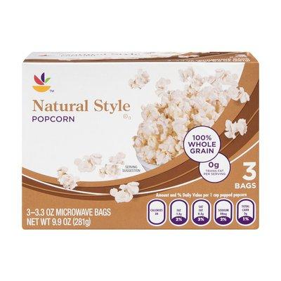 SB Popcorn Natural Style - 3 CT