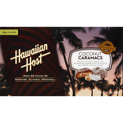 Hawaiian Host Coconut Caramacs