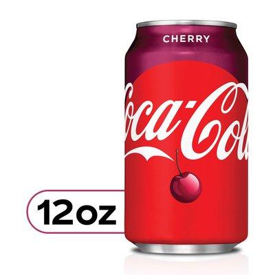 Coca-Cola Cherry Soda Soft Drink