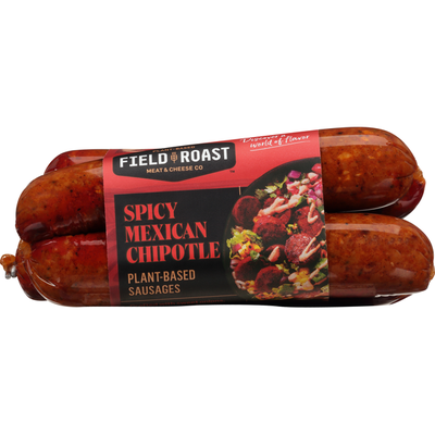 Field Roast Sausages, Spicy Mexican Chipotle, Plant-Based