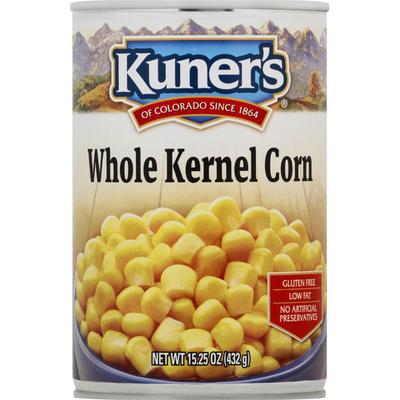 Kuners Corn, Whole Kernel