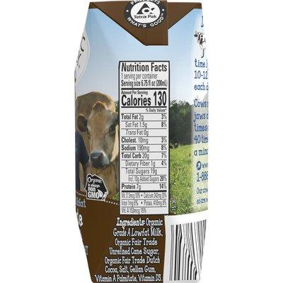 Organic Valley Organic 1% Milkfat Lowfat Chocolate Milk