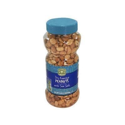 Southern Grove Dry Roasted Peanuts with Sea Salt