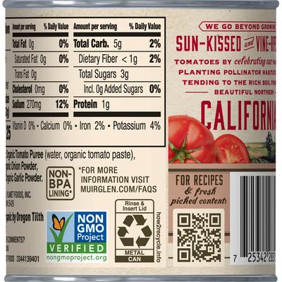 Muir Glen Tomato Sauce