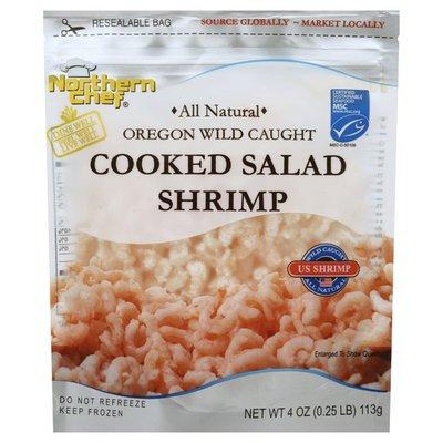 Northern Chef Shrimp, Cooked Salad