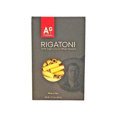 A.g. Ferrari 100% Organic Durum Wheat Semolina, Rigatoni