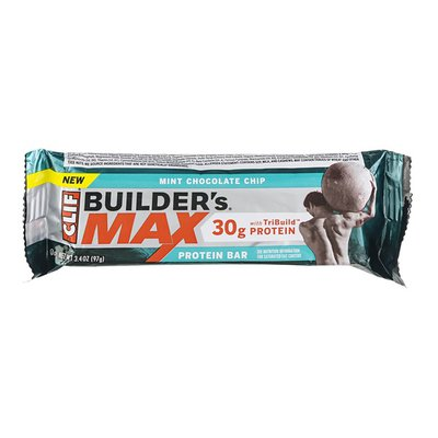 CLIF BAR Builder's Max Protein Bar Mint Chocolate Chip