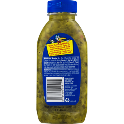 Vlasic Relish, Sweet, Homestyle, Squeezable