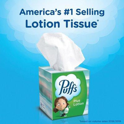 Puffs Lotion Facial Tissue