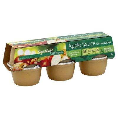 Signature Kitchens Apple Sauce, Unsweetened
