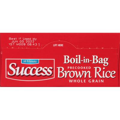 Success Boil-in-Bag Brown Rice
