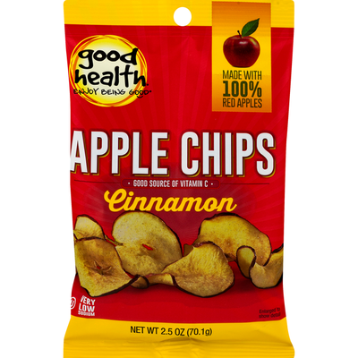 Good Health Apple Chips Cinnamon