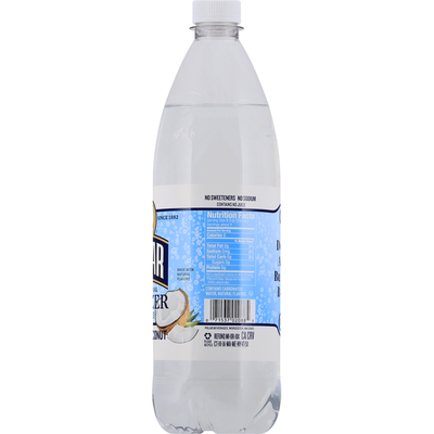 Polar Seltzer, 100% Natural, Toasted Coconut