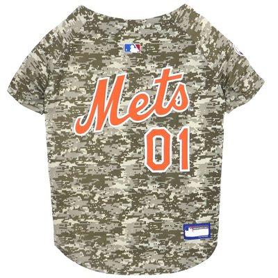 Pets First Medium New York Mets Camo Dog Jersey