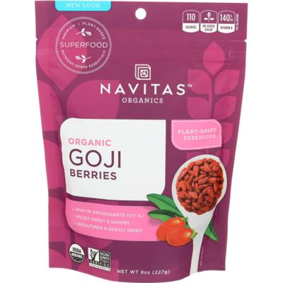Navitas Organics Berries, Organic, Goji