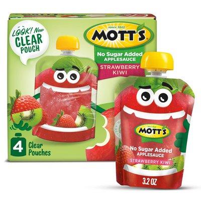 Mott's No Sugar Added Strawberry Kiwi Applesauce