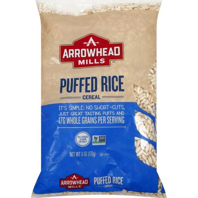 Arrowhead Mills Cereal, Puffed Rice