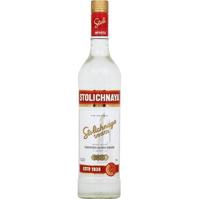 Stolichnaya Vodka, The Original
