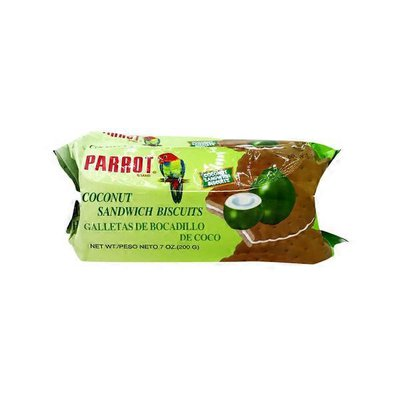 Parrot Coconut Sandwich Biscuits
