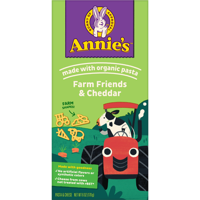 Annie's Pasta & Cheese, Farm Friends & Cheddar