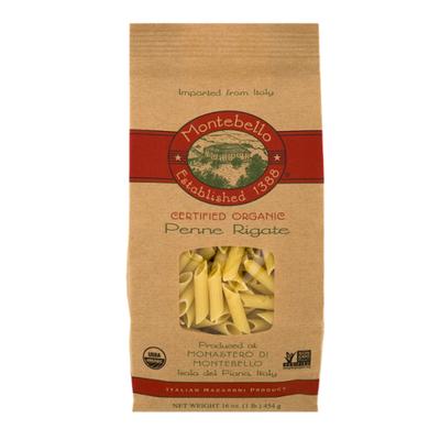Montebello Penne Rigate, Organic