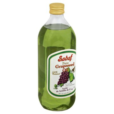 Sadaf Grapeseed Oil, Pure, Bottle