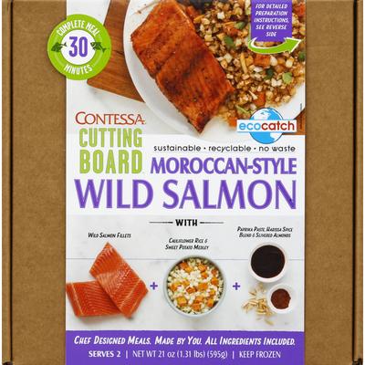 Contessa Wild Salmon, Moroccan-Style