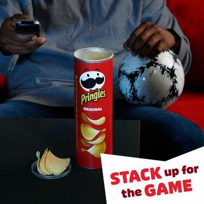 Pringles Potato Crisps Chips, Lunch Snacks, Snacks On The Go, Original
