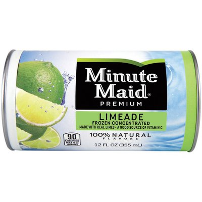 Minute Maid Limeade Can