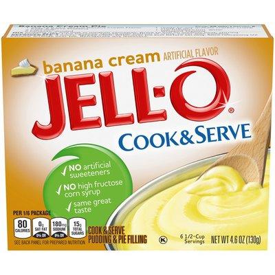 Jell-O Banana Cream Pudding & Pie Filling Mix