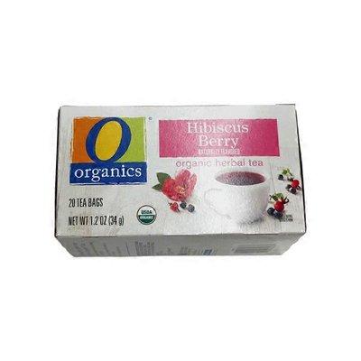 O Organics Herbal Tea, Organic, Hibiscus Berry, Bags