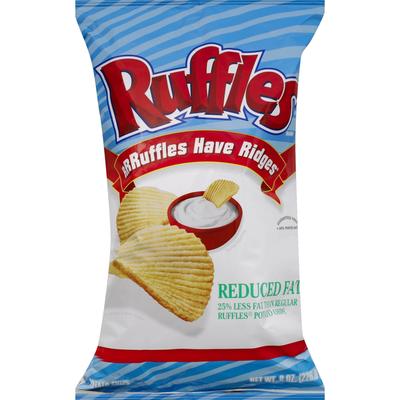 Ruffles Potato Chips, Reduced Fat