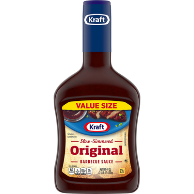 Kraft Original Slow-Simmered Barbecue Sauce Value Size