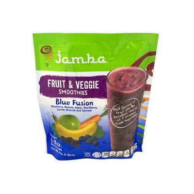 Jamba Juice Fruit & Veggie Smoothies, Blue Fusion