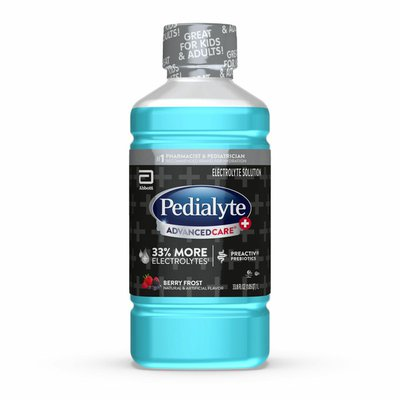 Pedialyte Electrolyte Solution Berry Frost