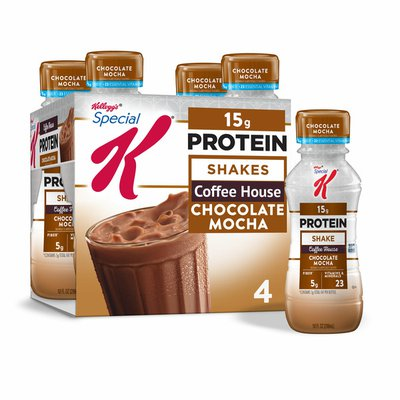 Kellogg's Special K Protein Shakes, Meal Replacement, High Protein, Chocolate Mocha