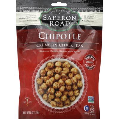 Saffron Road Crunchy Chickpeas, Medium, Chipotle