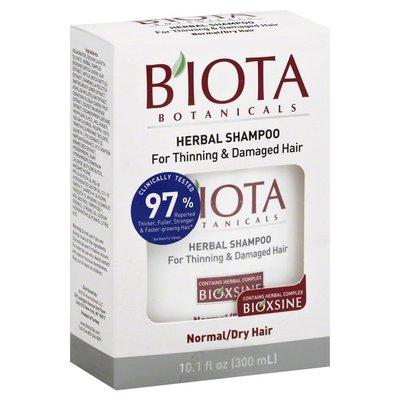 Biota Botanicals Shampoo, Herbal, Thinning Hair, Normal/Dry Hair, Box