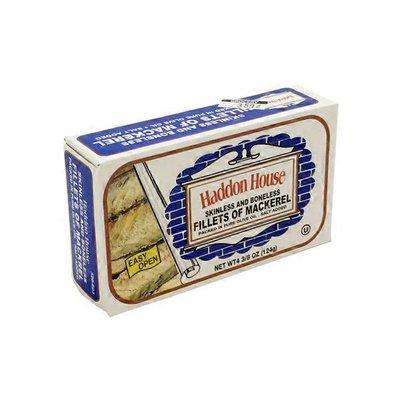 Haddon House Skinless & Boneless Filets Of Mackerel