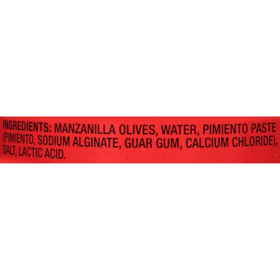 Lindsay Manzanilla Olives Stuffed with Pimiento