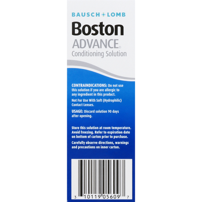 Bausch & Lomb Conditioning Solution, Advanced Comfort Formula, Step 2