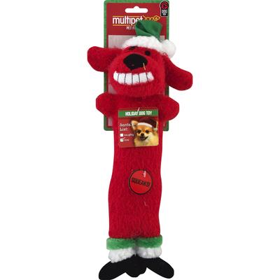 Multipet Dog Toy, Loofa Holiday, Medium