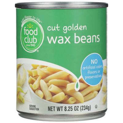 Food Club Cut Golden Wax Beans