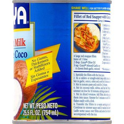 Goya Coconut Milk, Unsweetened