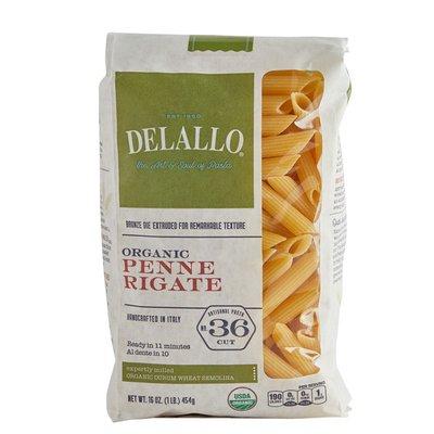 DeLallo Organic Penne Rigate #36