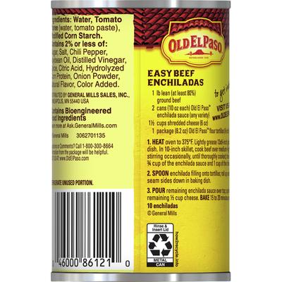 Old El Paso Enchilada Sauce, Medium, Red