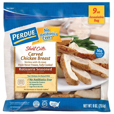 Perdue Carved Chicken Breast Rotisserie Seasoned